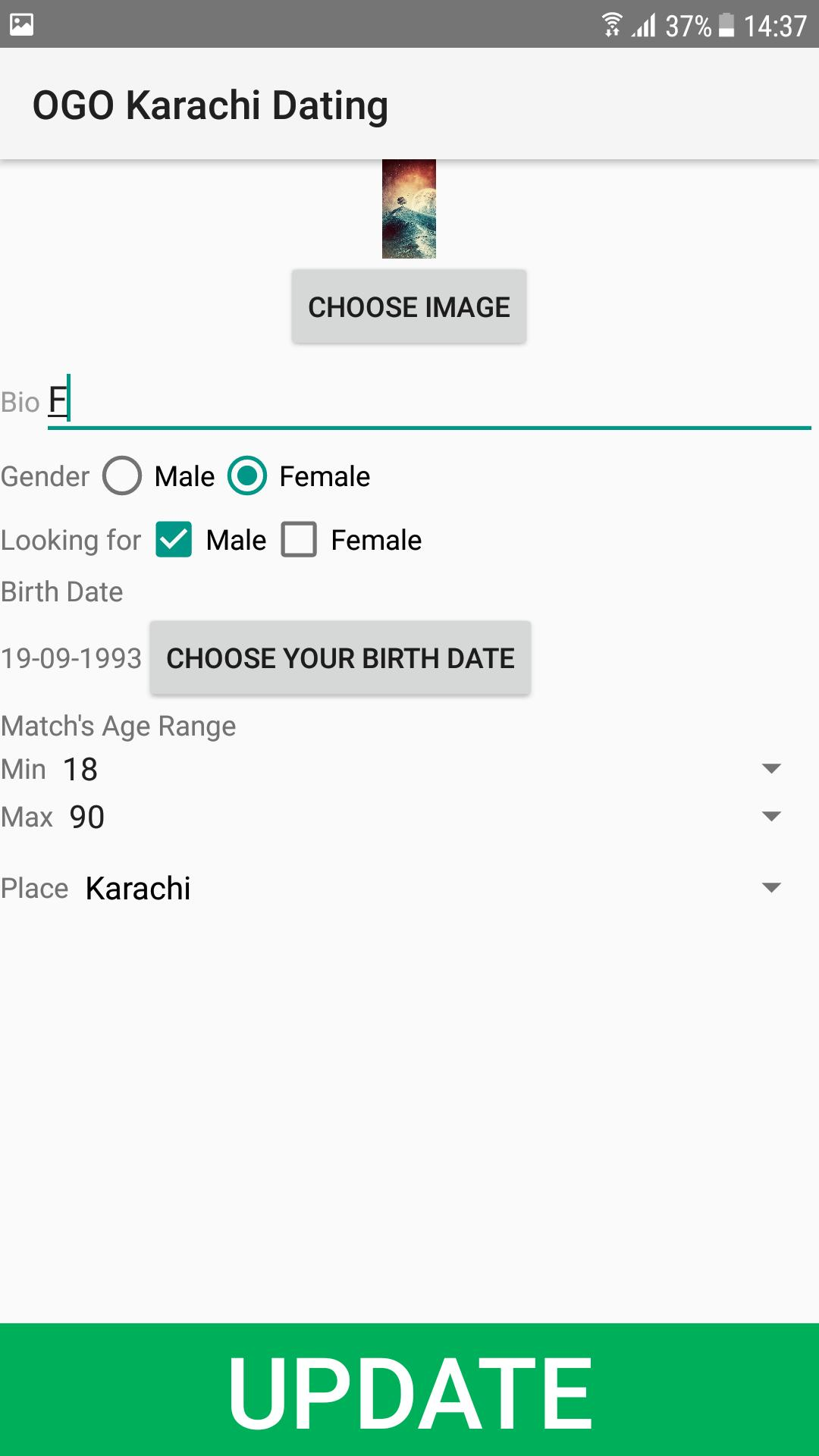Funny about me esimerkkejä dating sites