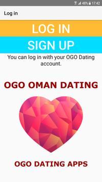 Oman Dating Site - OGO poster