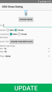 Oman Dating Site - OGO screenshot 1