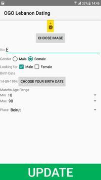 Lebanon Dating Site - OGO screenshot 1