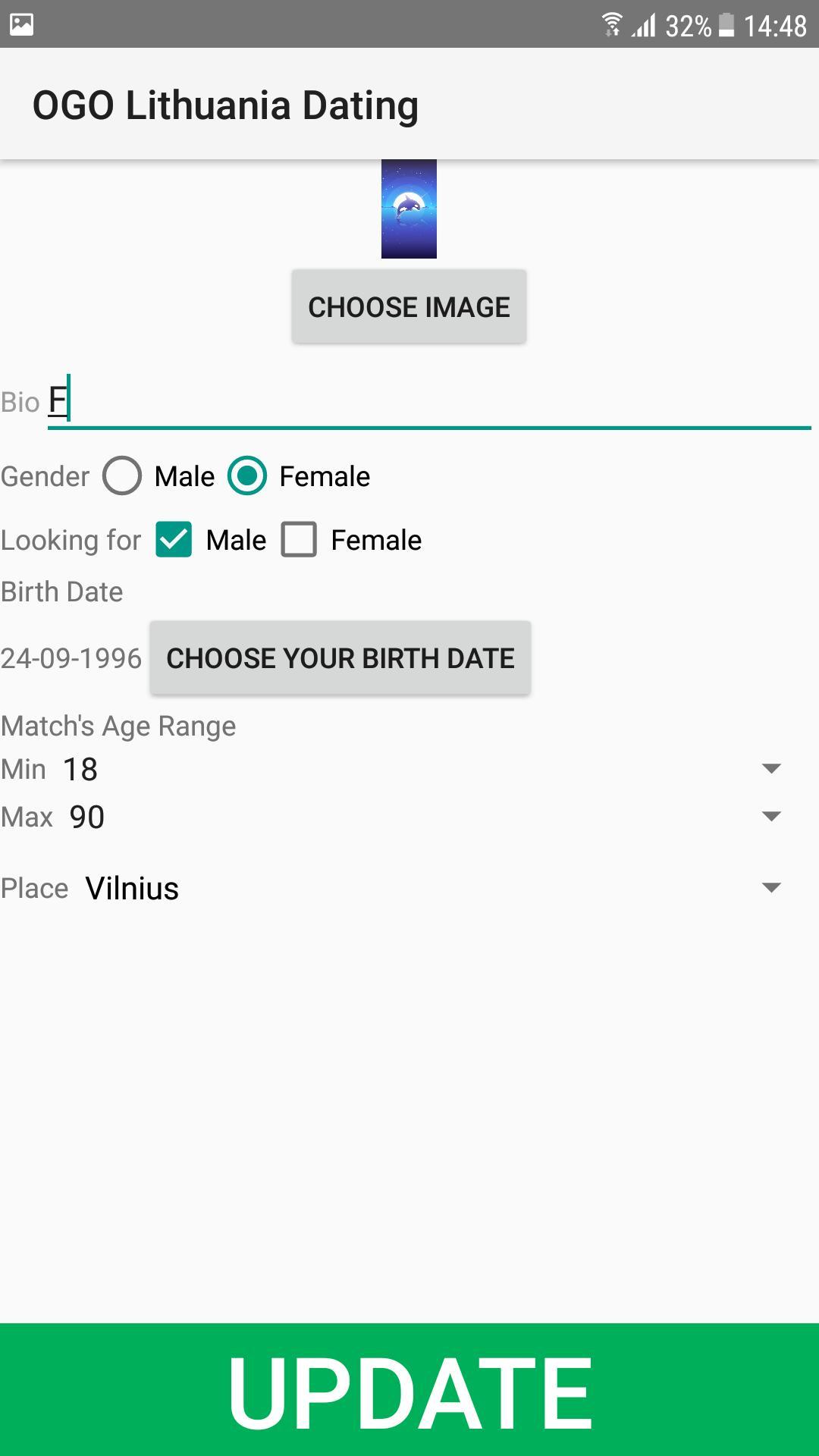 Lituania Dating Site.