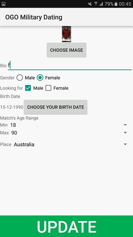 Australian army dating site