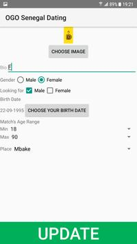 Senegal Dating Site - OGO screenshot 1
