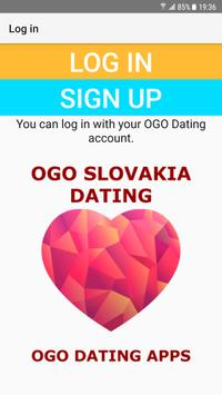 Slovakia Dating Site - OGO poster