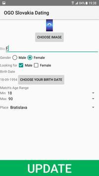 Slovakia Dating Site - OGO screenshot 1