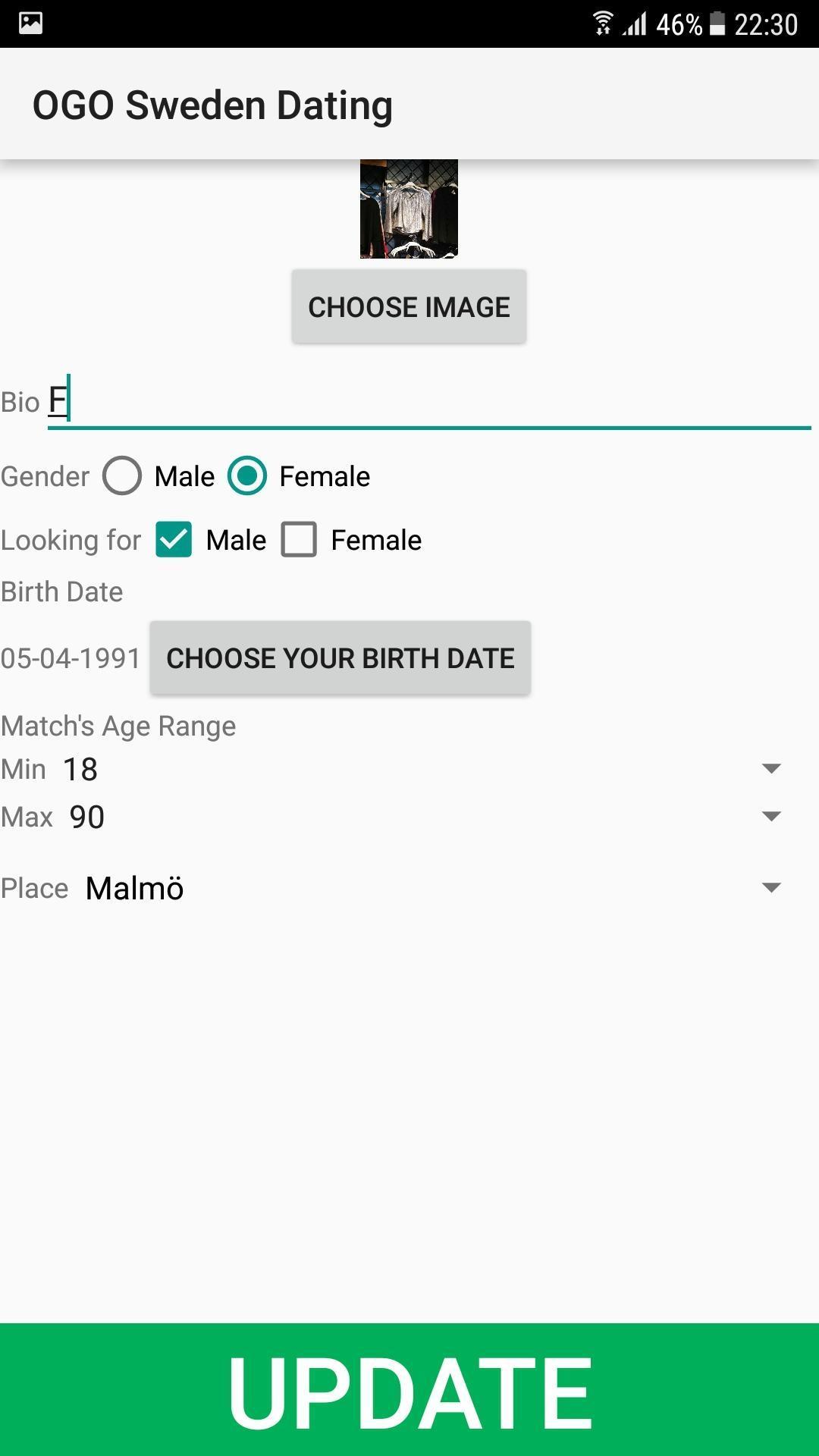 malmö dating site