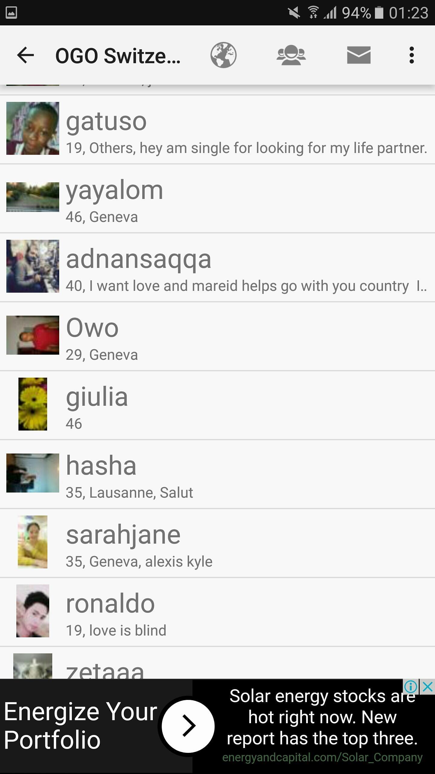 Dating Site Geneva)