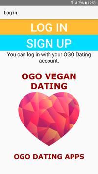 Vegan Dating Site - OGO poster