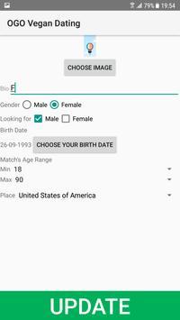 Vegan Dating Site - OGO screenshot 1