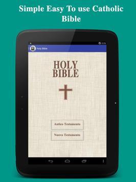 Bibbia - Italian Bible FREE poster