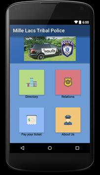 Mille Lacs Tribal Police screenshot 1