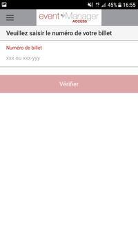 eventManager Access apk screenshot