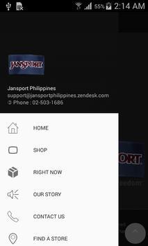 JanSport apk screenshot