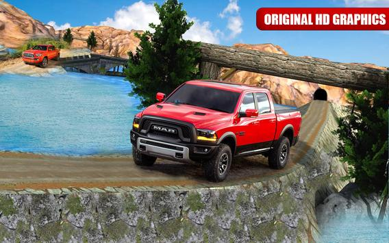 Offroad Hill Driving Simulator | Cargo Truck poster