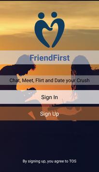 FriendsFirst poster