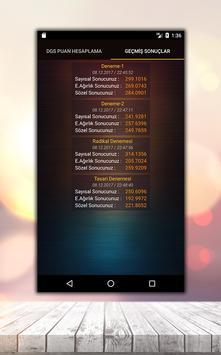 DGS Puan Hesaplama Asistanı screenshot 4