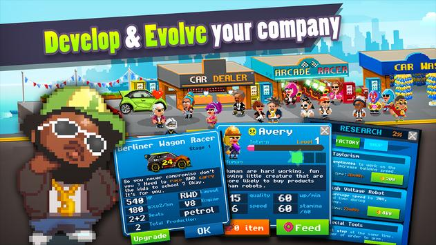 Motor World Car Factory apk screenshot