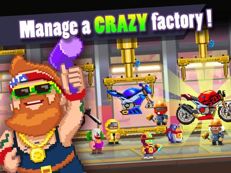 Motor World: Bike Factory apk screenshot