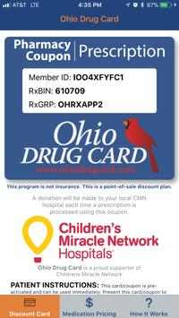 Ohio Drug Card poster