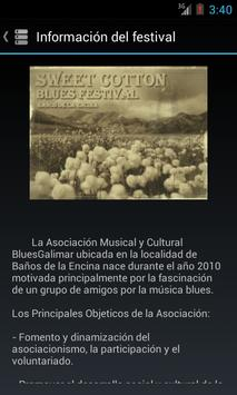 Sweet Cotton Blues Festival apk screenshot