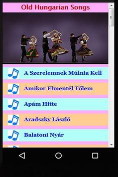 Old Hungarian Songs apk screenshot