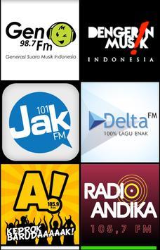 Radio Indonesia Popular apk screenshot