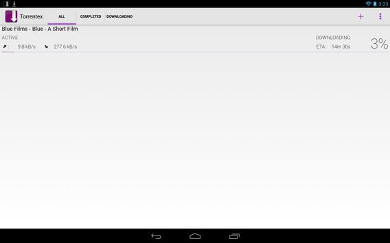 Torrentex captura de pantalla 5