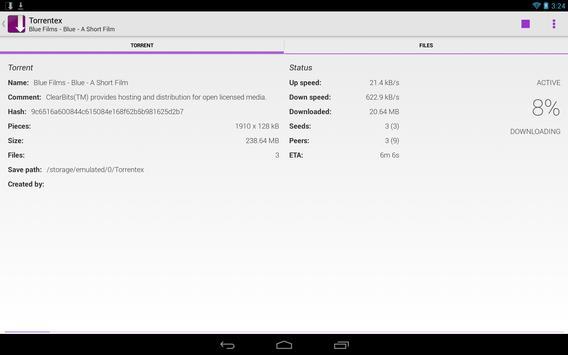 Torrentex captura de pantalla 6