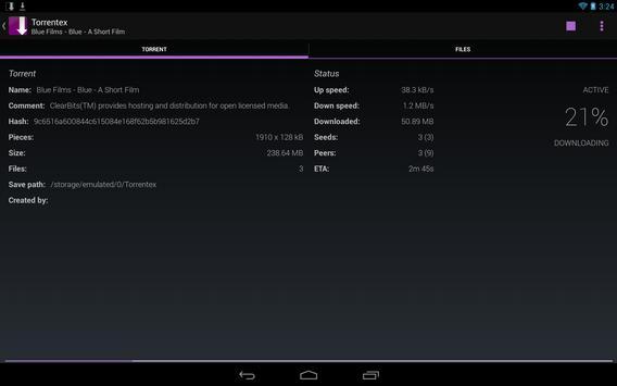 Torrentex captura de pantalla 7