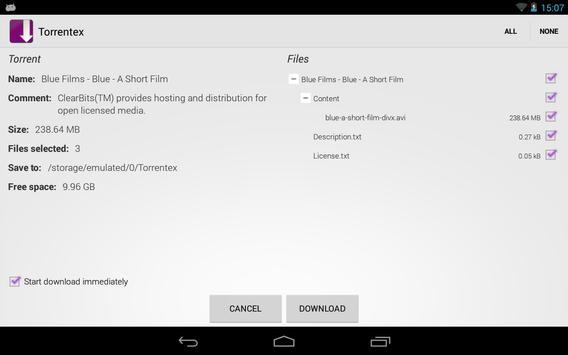 Torrentex captura de pantalla 9