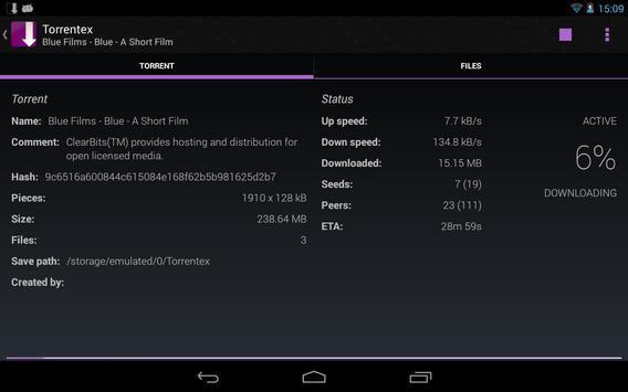 Torrentex captura de pantalla 11