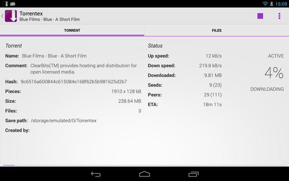 Torrentex captura de pantalla 12