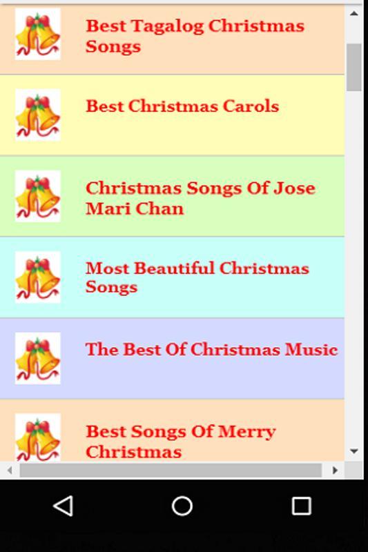 catholic christmas carols screenshot 5 - Best Christmas Carols
