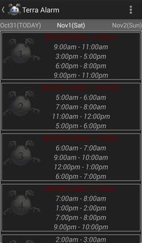Terra Alarm screenshot 2