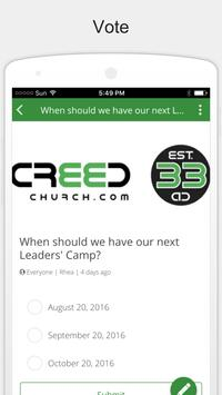 Creed Church screenshot 1