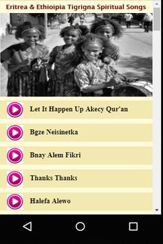 Eritrea & Ethioipia Tigrigna Spiritual Songs poster
