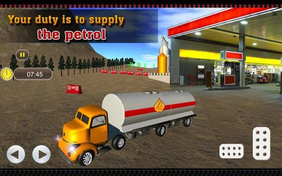 Oil Tanker Transporter Truck apk screenshot