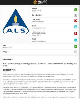 Oilfield Directory screenshot 15