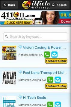 Oilfield Directory screenshot 2