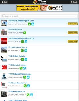 Oilfield Directory screenshot 9