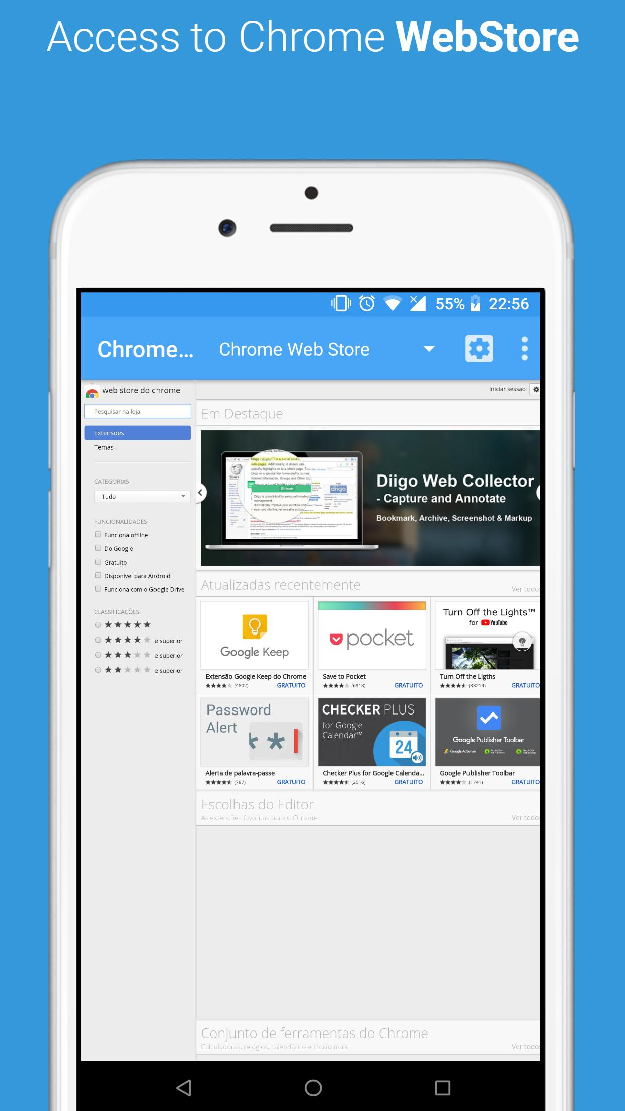 Developer Dashboard for Chrome Web Store for Android - APK Download