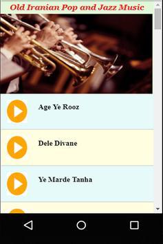 Old Iranian Pop and Jazz Music screenshot 2