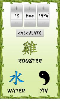 Chinese Horoscope Free apk screenshot