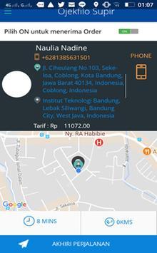Ojekfilo Supir apk screenshot