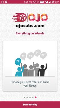 OJO Cabs - Auto, Taxi Booking, Carriage Booking screenshot 1
