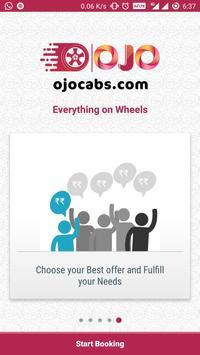 OJO Cabs -Bike, Car, Auto, Taxi , Carriage Booking screenshot 1