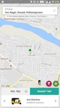 OJO Cabs -Bike, Car, Auto, Taxi , Carriage Booking screenshot 3