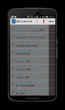 MP3 Cutter R.M apk screenshot