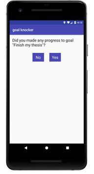 goal knocker apk screenshot