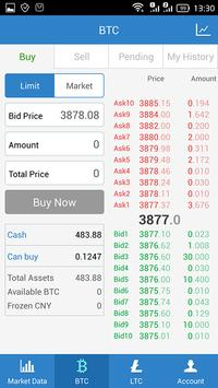 OKCoin apk screenshot